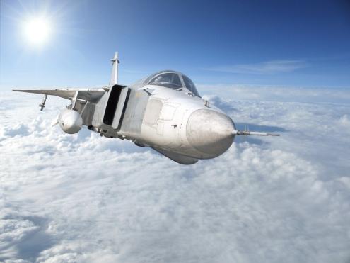 Military Jet Bomber