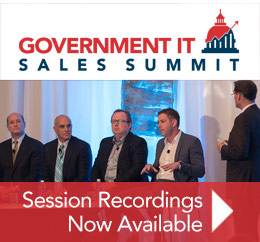View Session Recordings from 2015 Government IT Sales Summit